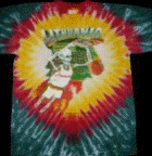 1992 Lithuanian Slam Dunking Skeleton Tie Dye basketball T-Shirt. 1992 Copyright & Trademark property of Greg Speirs / Licensor. (Photo: Business Wire)